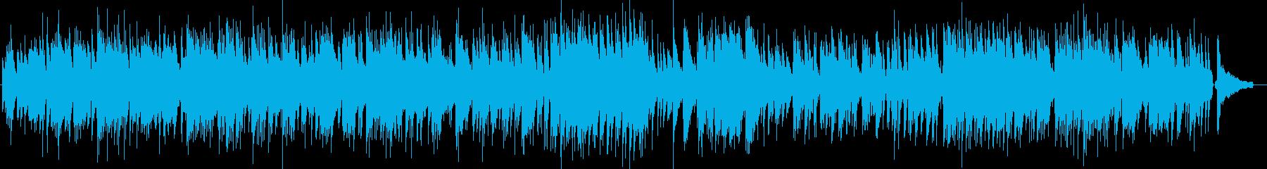 ほのぼのしたピアノトリオのポップスの再生済みの波形