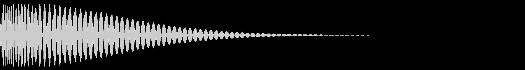 クラッシュドラムキット02-キック02の未再生の波形
