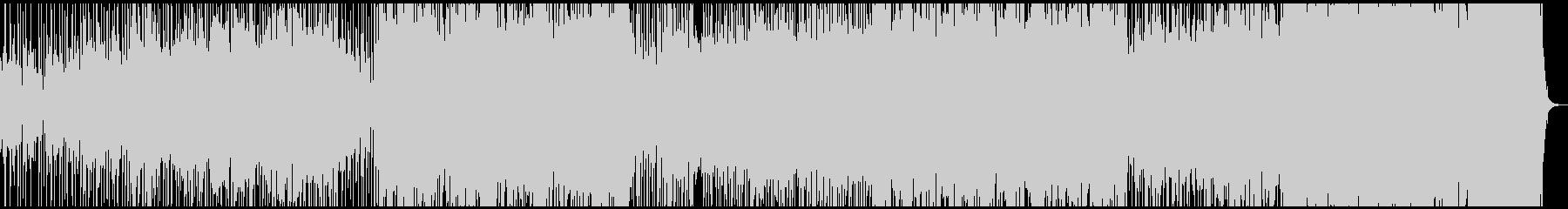 篠笛やシンセが活躍する和風エレクトロ曲の未再生の波形