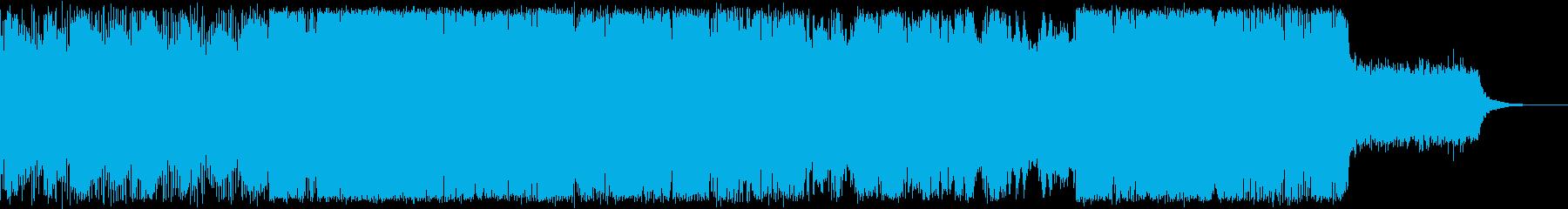 ゲーム/探検/遺跡/変拍子の再生済みの波形