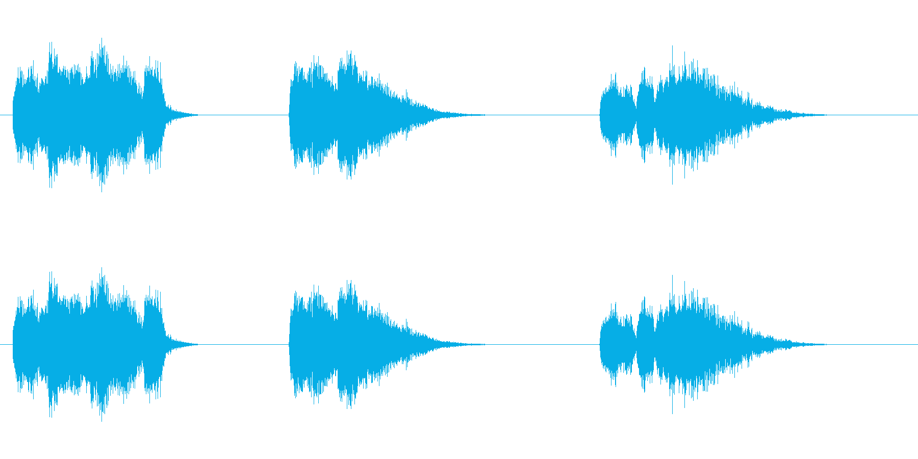 爆発25の再生済みの波形