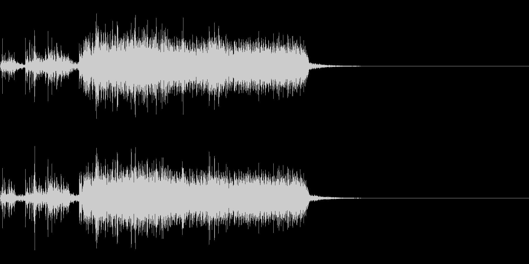 スパーク音-32の未再生の波形