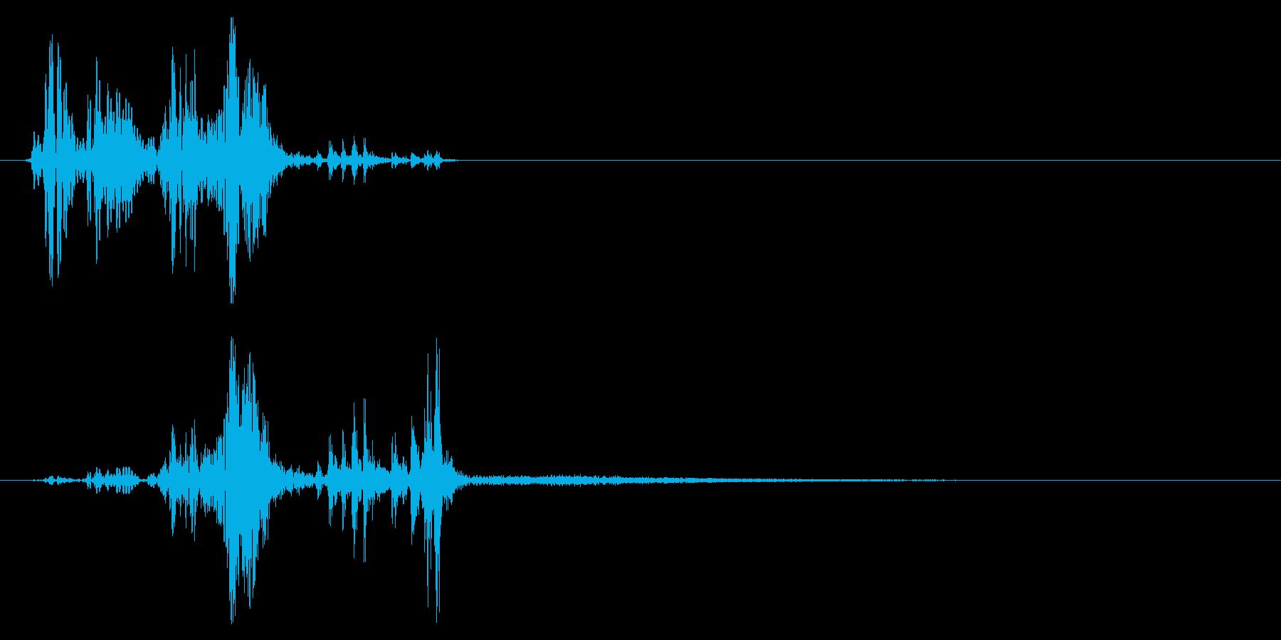 スウッシュによるショートプロセスバ...の再生済みの波形