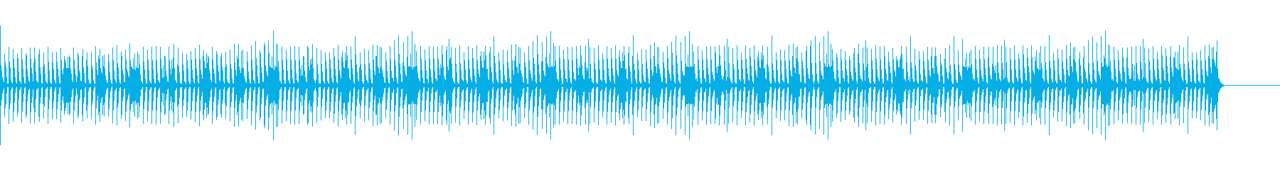 Dr&Bassクラブ・バー風のJAZZの再生済みの波形