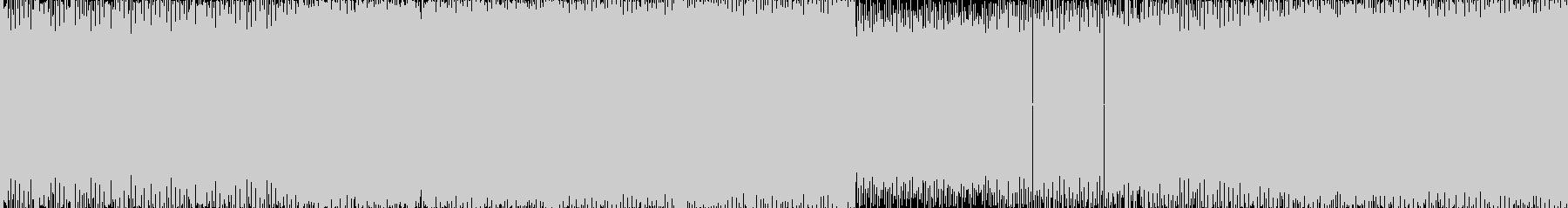 暗めハイスピード系の曲<loop仕様>…の未再生の波形