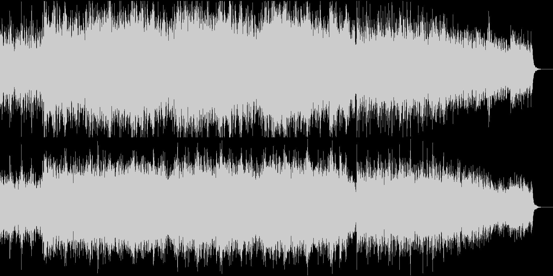 ★切迫雰囲気のオーケストラDry MIXの未再生の波形