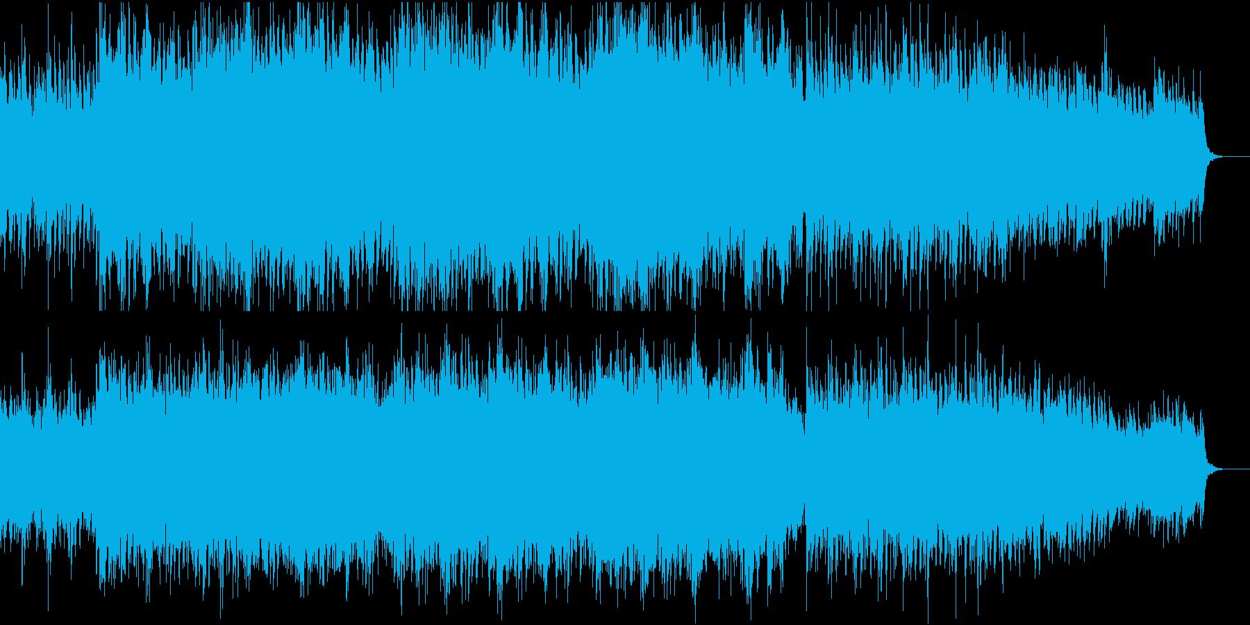 ★切迫雰囲気のオーケストラDry MIXの再生済みの波形