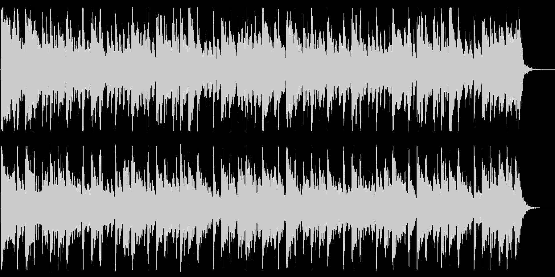 賑やかしくポップなBGM_No617_4の未再生の波形