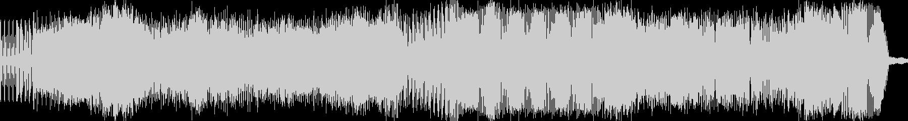 カッコいいアンビエンスBGMの未再生の波形