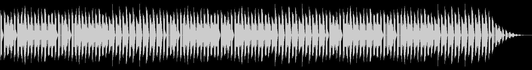 GB系風和風ゲームのステージ曲の未再生の波形