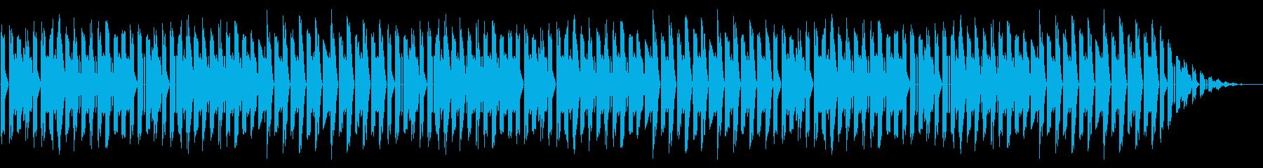 GB系風和風ゲームのステージ曲の再生済みの波形