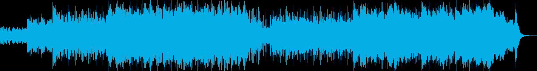 炸裂するギターソロ、ロックの中のロックの再生済みの波形