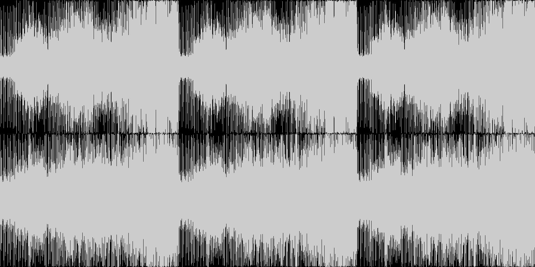 迫力のボス戦オーケストラ戦闘曲。ループ可の未再生の波形