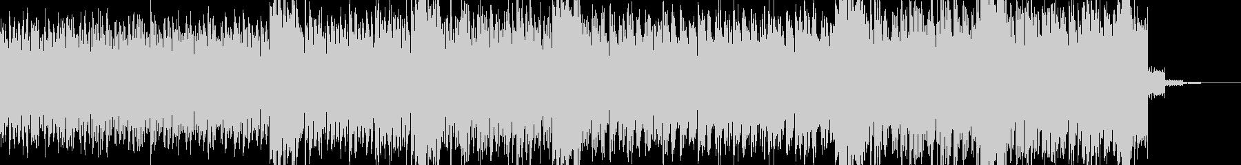 過激な音色構成のテクノ+トランス LAの未再生の波形