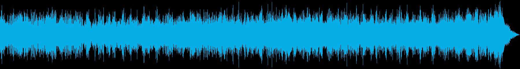 壮大で独特な世界観あるメロディーの再生済みの波形