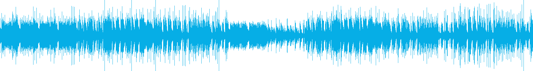 3拍子アコーディオン 街のbgm ループの再生済みの波形