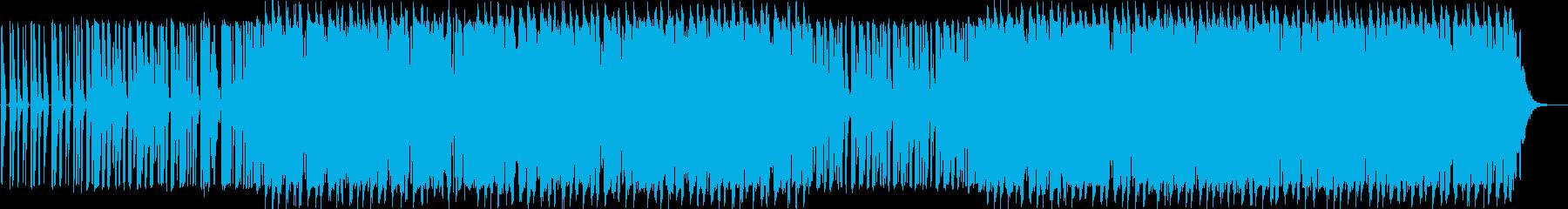ラテン系 楽しげ ハイテク アンビ...の再生済みの波形