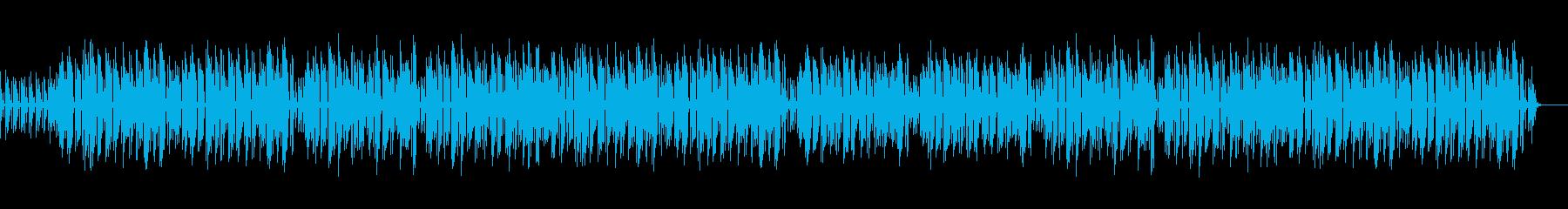 哀愁漂うジャズ・ボサノバの再生済みの波形