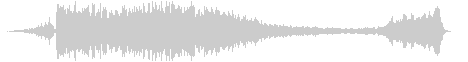 C/つらすぎる弦楽BGM・映像制作の未再生の波形