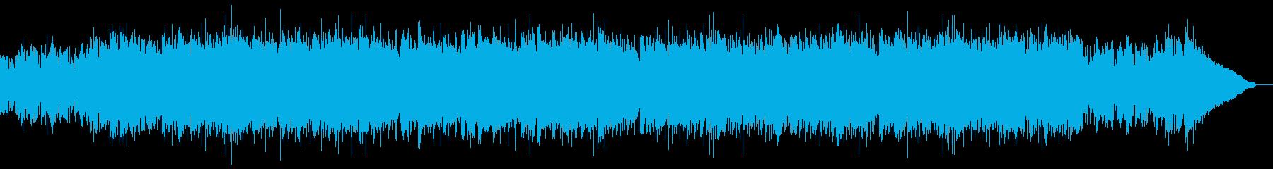 生演奏アコギ・CMや映像・ワイルドの再生済みの波形