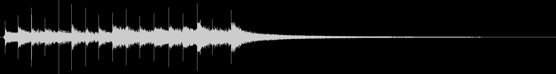 漫画のアクセント:サスペンス、ロン...の未再生の波形