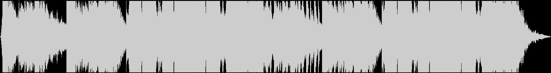 クールなアメリカンウエスタンロックの未再生の波形