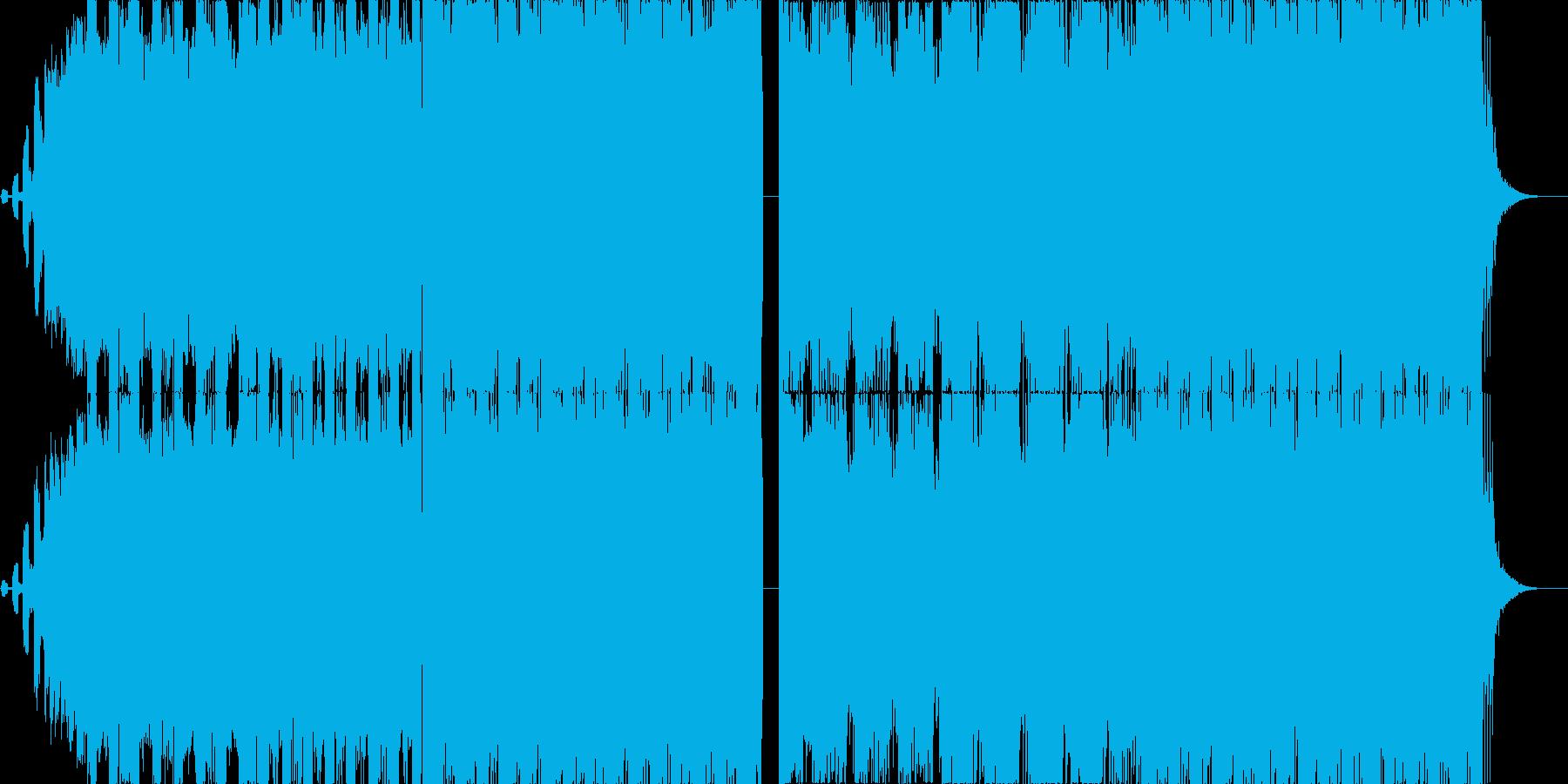 カッコ可愛いFutue Bass EDMの再生済みの波形