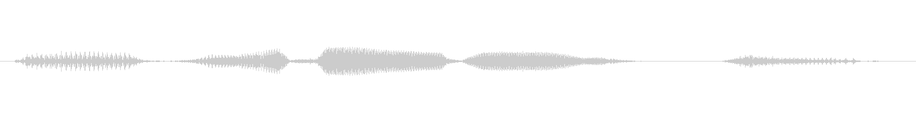 「ダブルリーチ(立直)」麻雀の未再生の波形