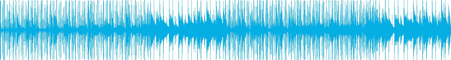 Hearty bright rustic BGM's reproduced waveform
