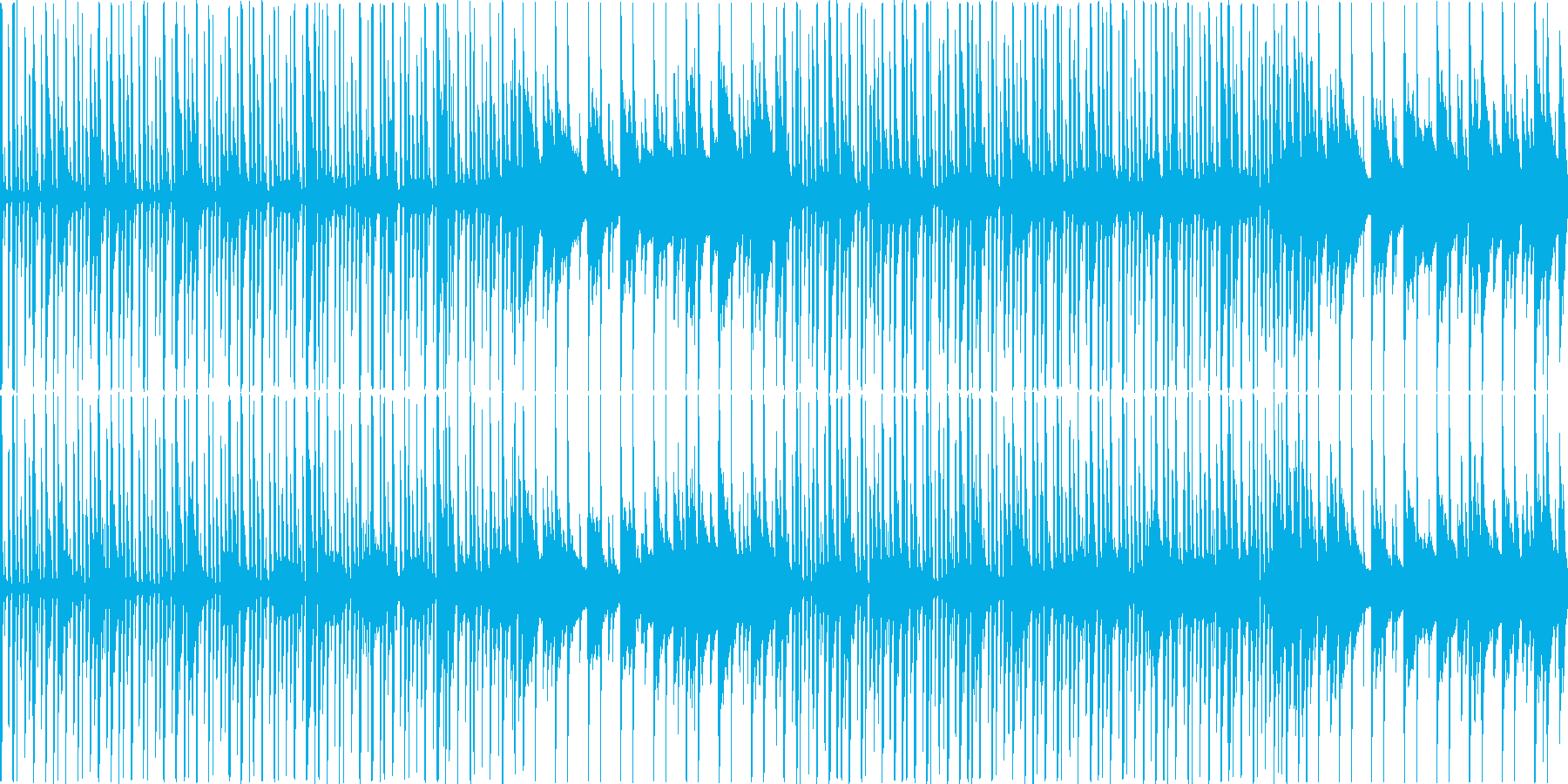 のどか11の再生済みの波形