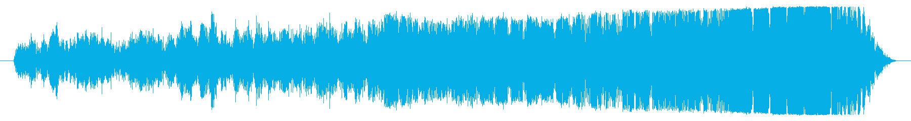 モーターパワーアップの不具合の再生済みの波形