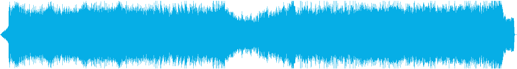 スピード感・ダークでクールなトランスの再生済みの波形