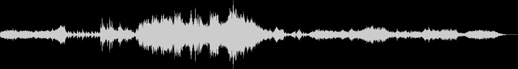壮大なファンタジーRPG風オーケストラの未再生の波形