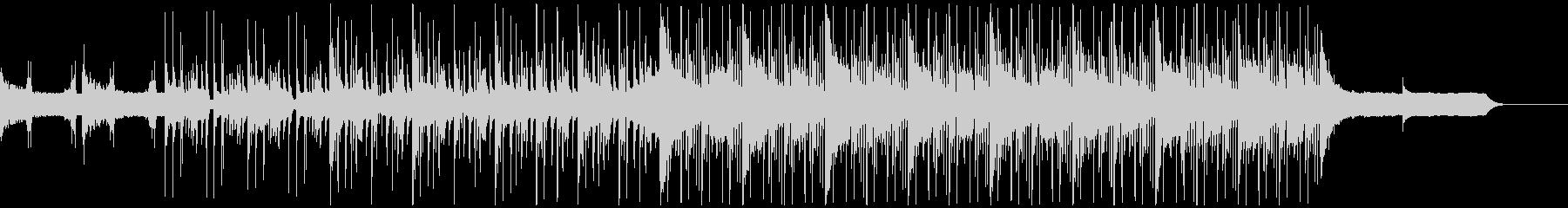 オーガニックエレクトロニカ CMジングルの未再生の波形
