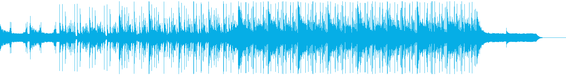オーガニックエレクトロニカ CMジングルの再生済みの波形