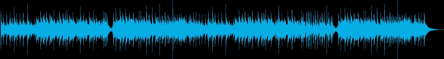 明るい、エネルギッシュな曲調のピアノソロの再生済みの波形