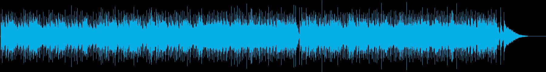 ほのぼのまったりなポップなBGMの再生済みの波形