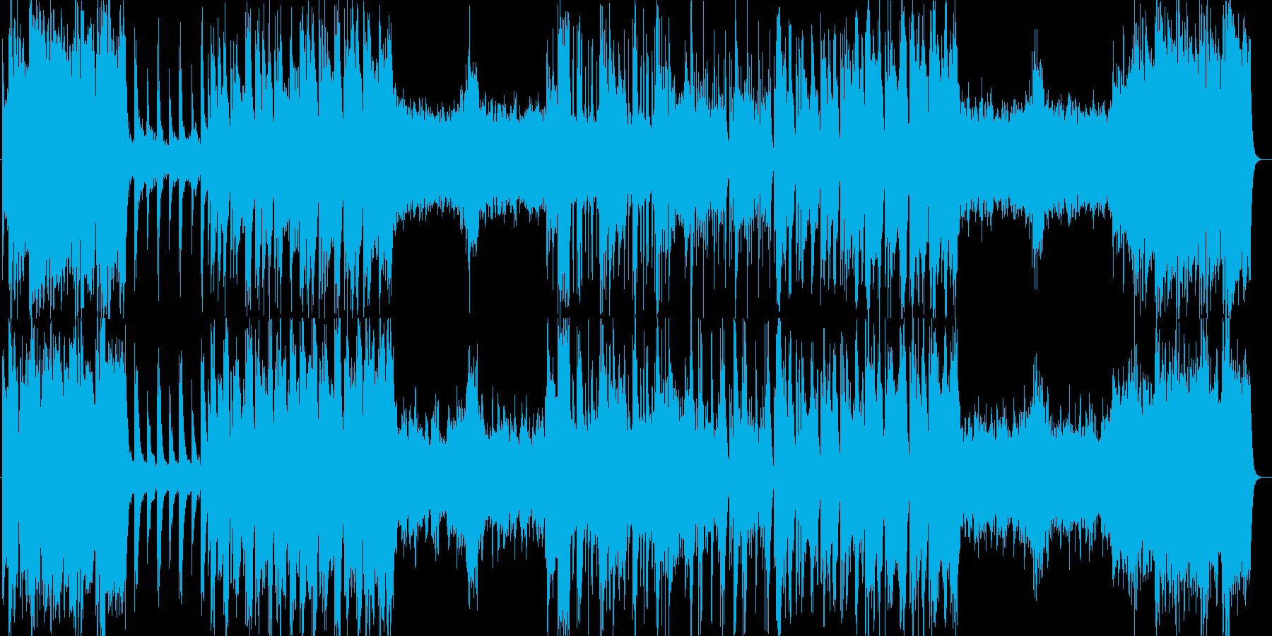 ブラスサウンドが気持ちいいクラシックの再生済みの波形