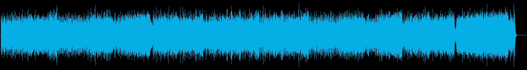 心が弾むテーマパーク・タイプのポップの再生済みの波形