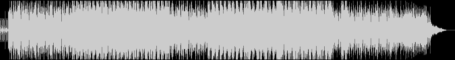 重厚、濃厚なアンビエントテクノEDMの未再生の波形