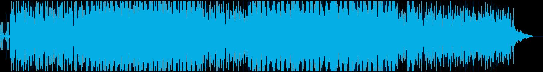 重厚、濃厚なアンビエントテクノEDMの再生済みの波形