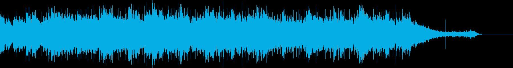 雨・不穏・ミステリアスなピアノBGMの再生済みの波形