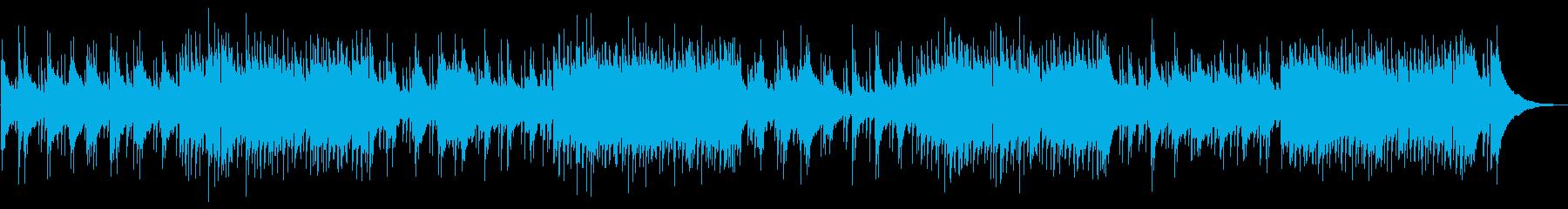 懐かしいイメージのポップバラードの再生済みの波形