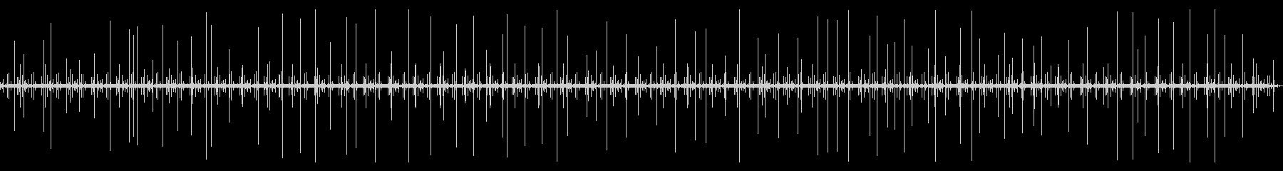 [生録音]レコード再生ノイズ03(3分)の未再生の波形