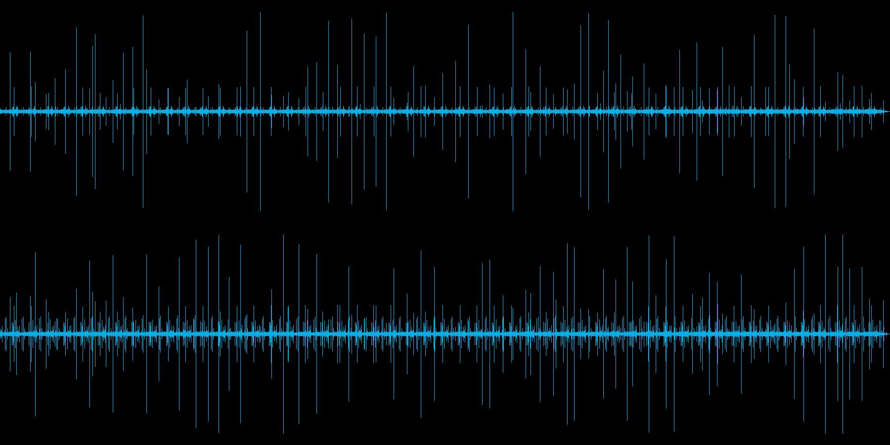 [生録音]レコード再生ノイズ03(3分)の再生済みの波形
