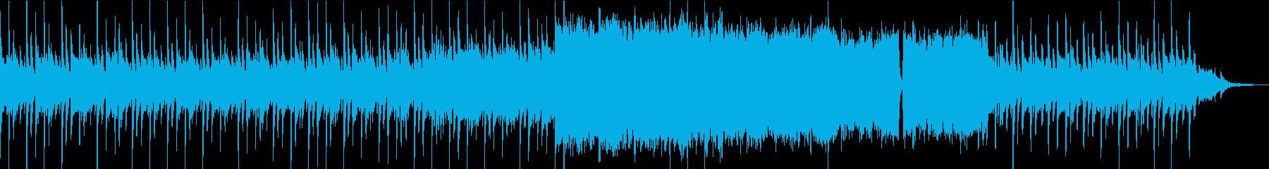 ピアノとピッツィカートが印象的なインストの再生済みの波形