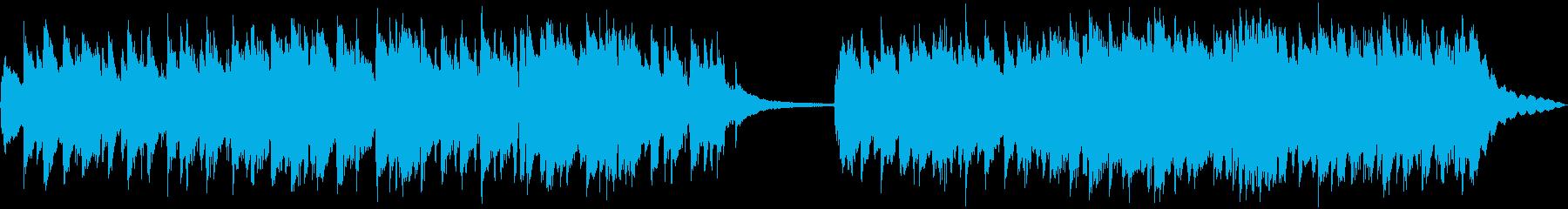 アコースティック楽器。さわやかなゆ...の再生済みの波形