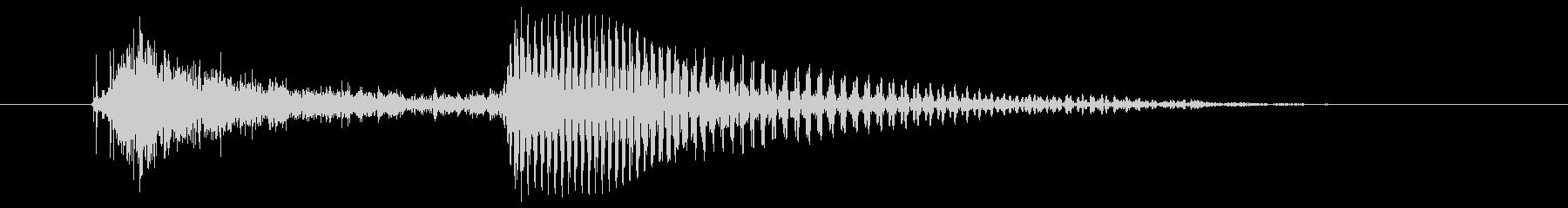 1 (two 英語)数字-2桁以上連結可の未再生の波形