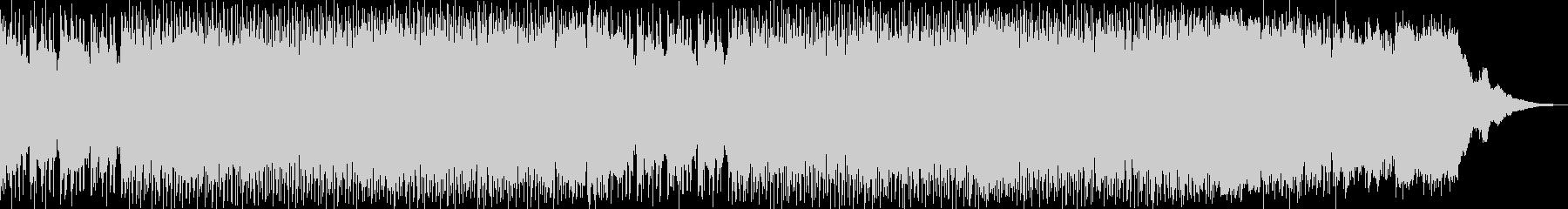 YOUTUBE/動画に使えるBGMの未再生の波形