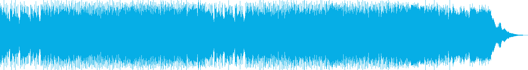 YOUTUBE/動画に使えるBGMの再生済みの波形